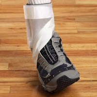 Sprain-Guard� for Ankles - Total Rollover Control; Stabilization, Mobility, Comfort. Guaranteed.