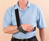 DYNAMIC-ARM-SLING™ - Unmatched Comfort and Support. Applied and Removed Instantly Using Only the Healthy Arm. Guaranteed.